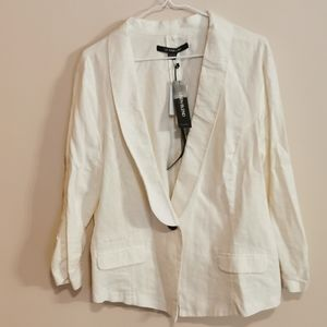 Linen blend blazer size XXL bnwt